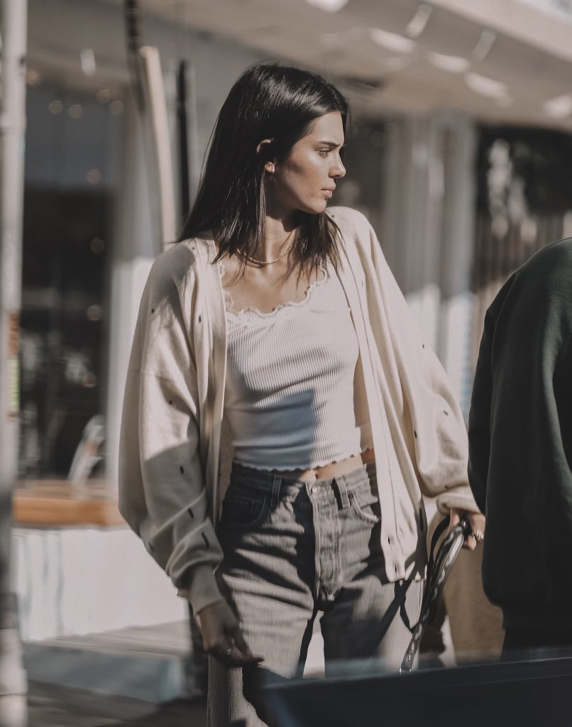 kendall jenner, streetstyles, beauty and model