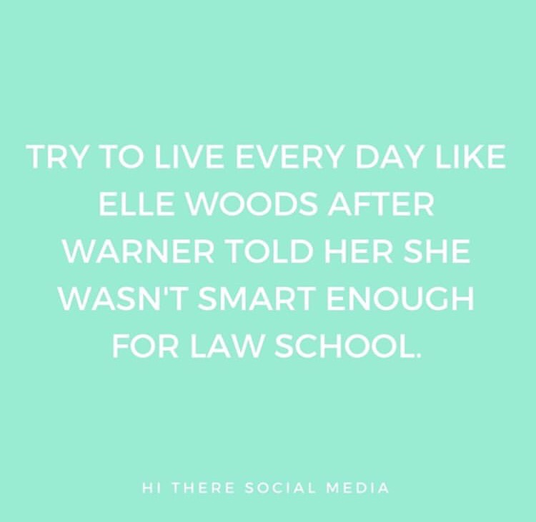 queen, monday, legally blonde and university