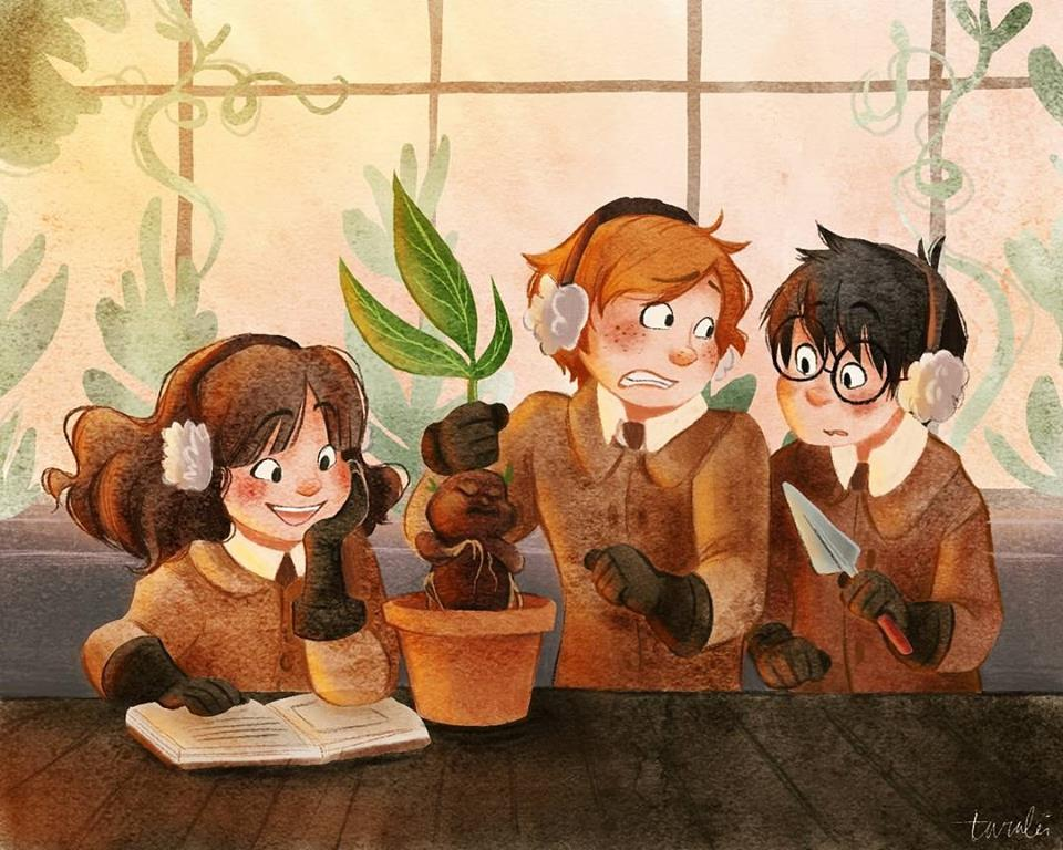 potter, weasley, ron weasley and harry