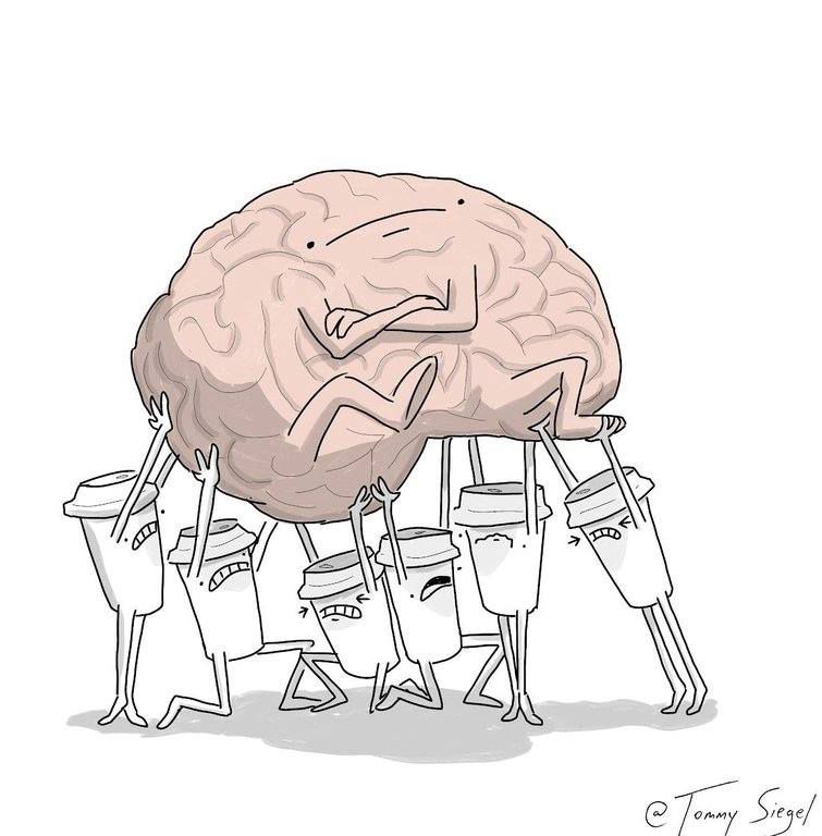 to wake up your brain, hard, brain isnt happy yet and drawing