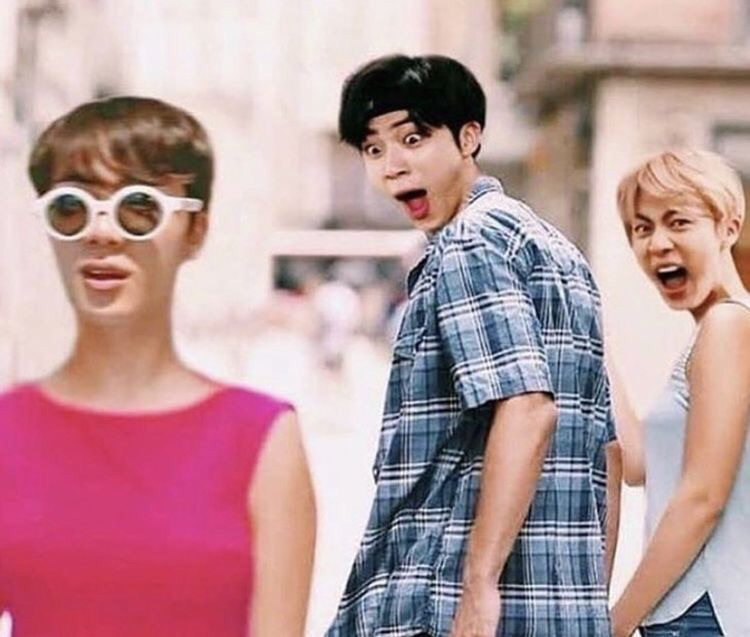 bts, kpop, memes and worldwide handsome