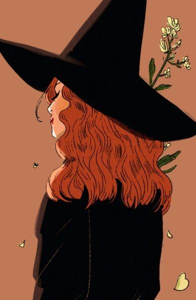 a witch, art work, bsl and autumn art