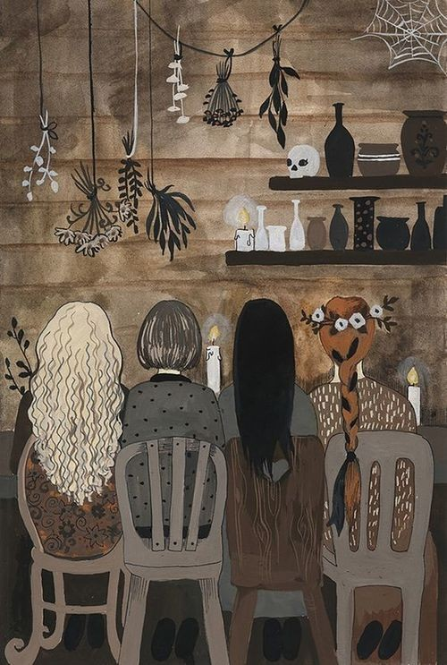 illusion, many witch, witch house and witch art