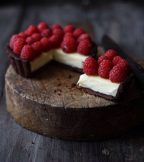 cake chocolate, fruit, dessert recipe and yummy food
