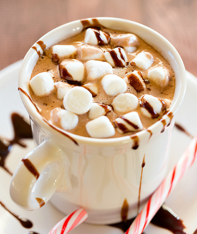 hot chocolate, winter, peppermint and peppermint hot chocolate