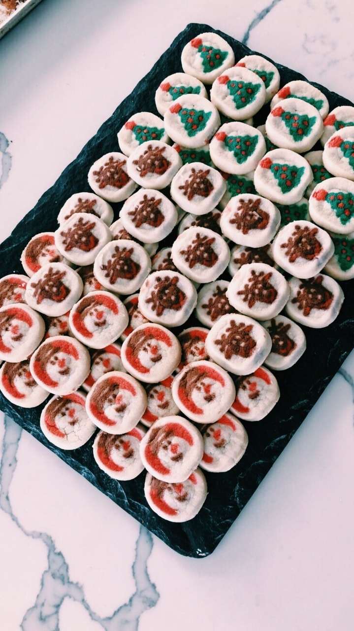 movie, christmas time, cookies and tradition