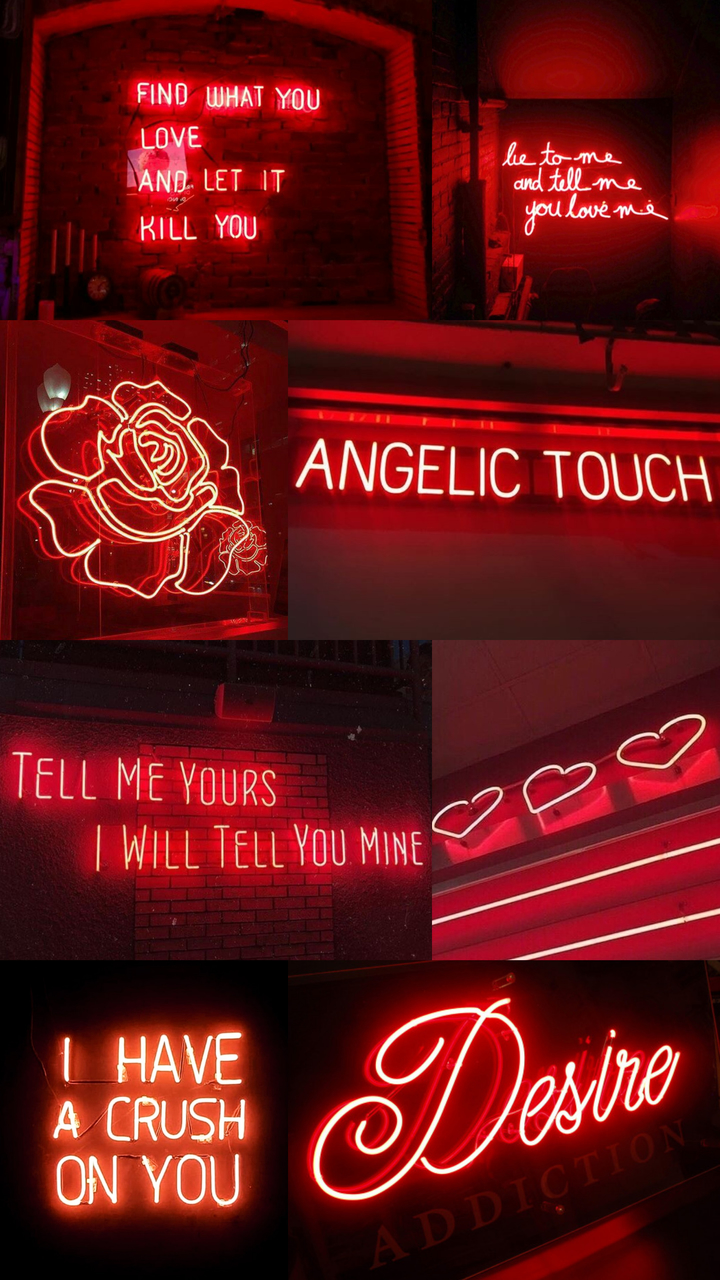 love, neon, heart and lights