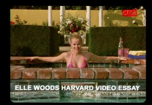 legally blonde and elle woods