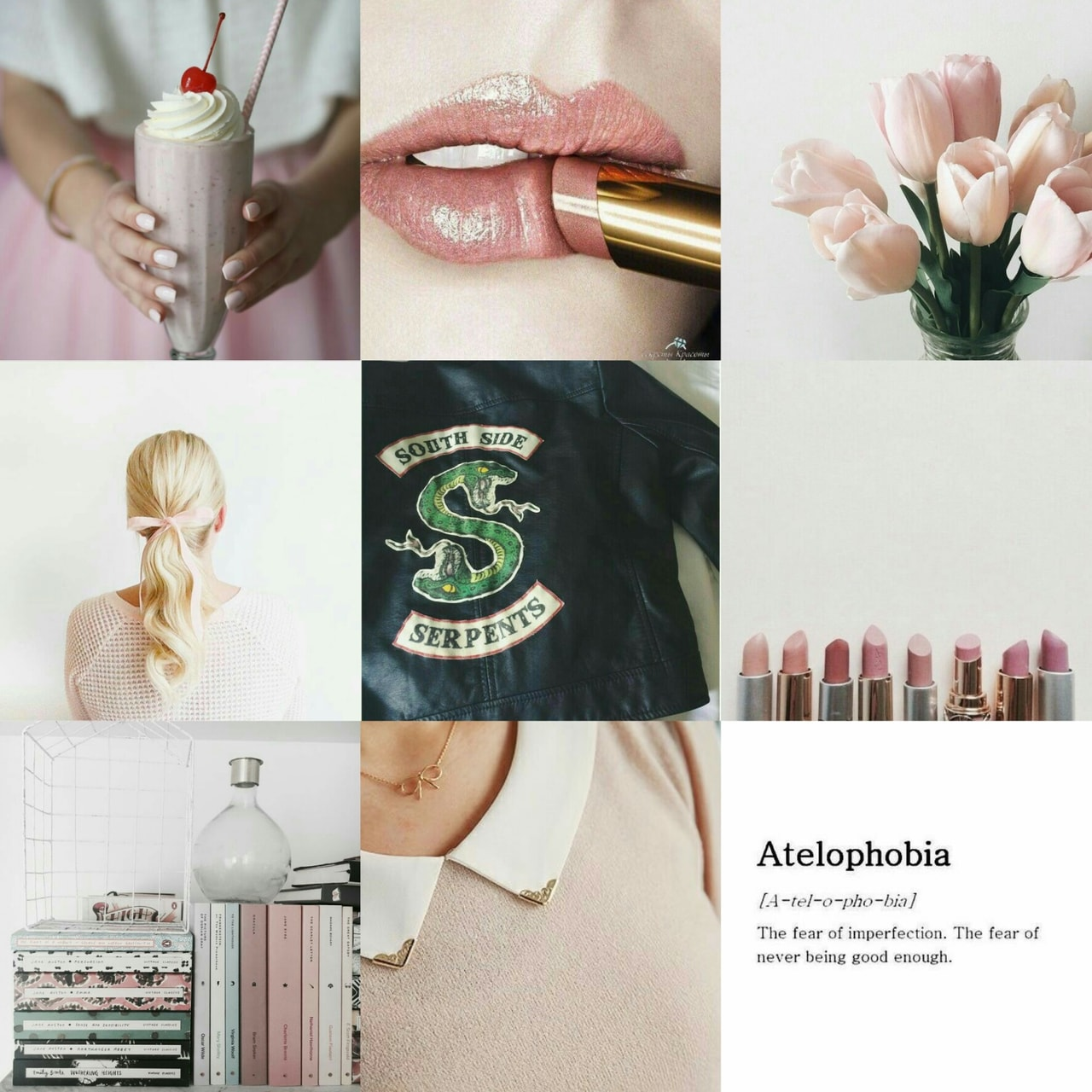 milkshakes, pink aesthetic, riverdale aesthetic and betty cooper