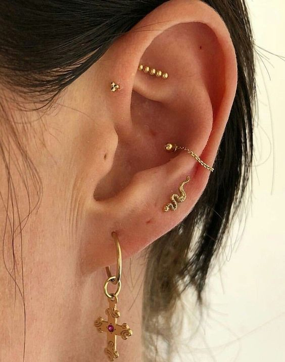 brinco, earing, jewelry and helix