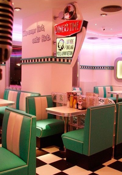 vintage, 80s aesthetic, vintage aesthetic and diner