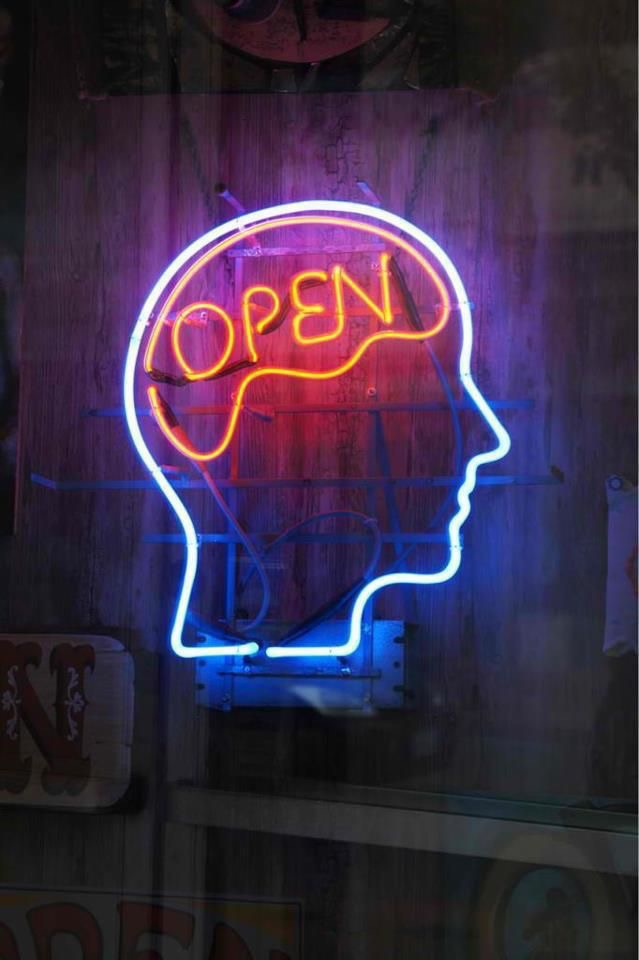 open minded, nose, sign and neon