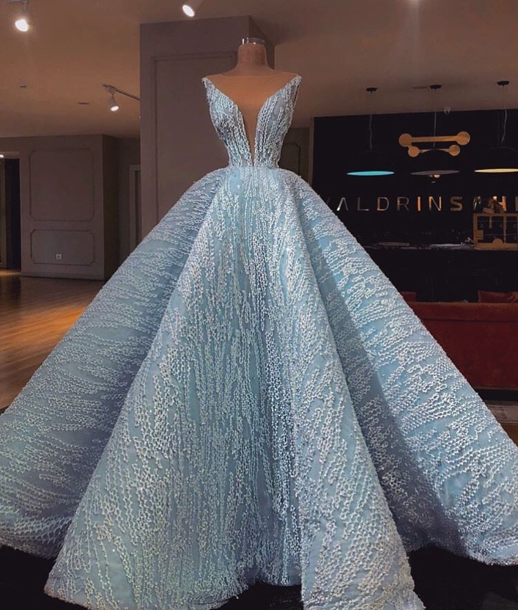 evening gown, dresses, gown and engagment dress