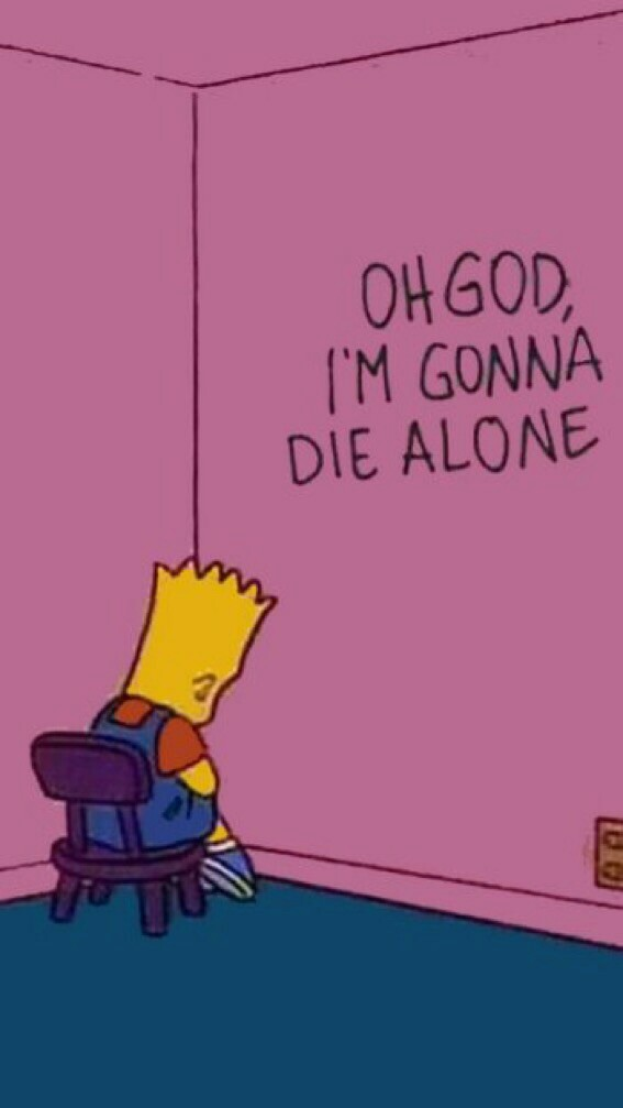 Simpsons Sad Mood And Sadsimpsons Image 6746344 On Favim Com