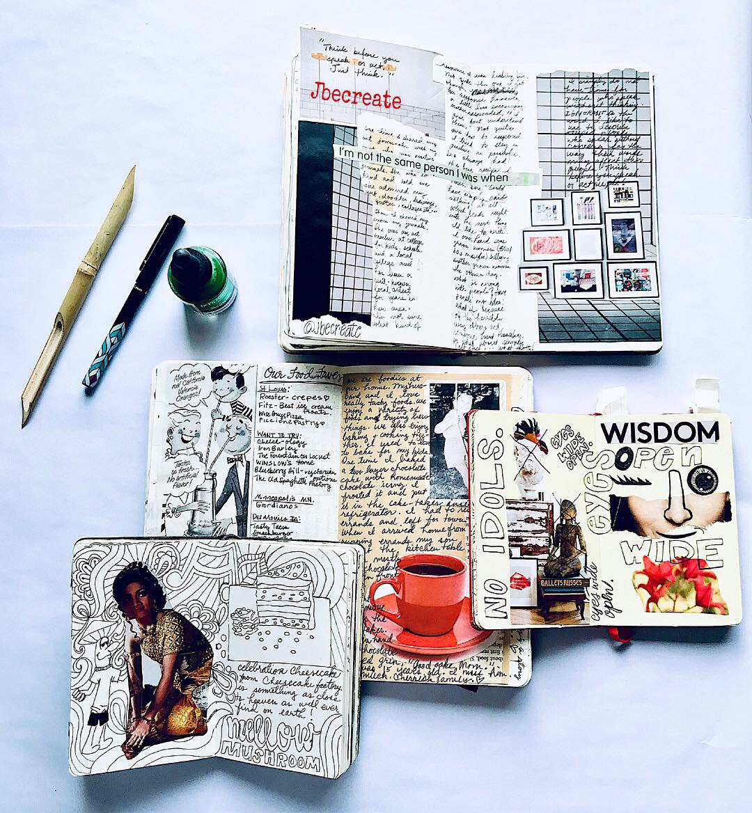 photography, journals, art aesthetic and journal ideas