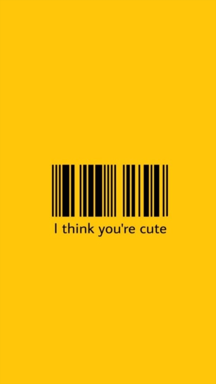 Background Think Your Cute Wallpaper And Barcode Image