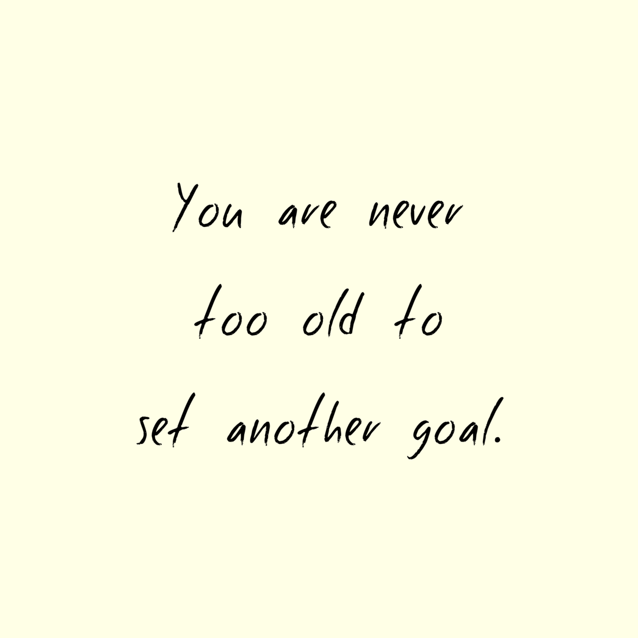 goal, too old and old
