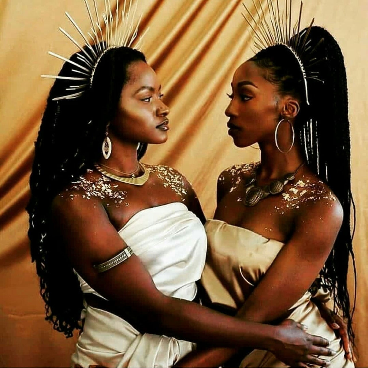 black girls, beauty, photography and melanin queens