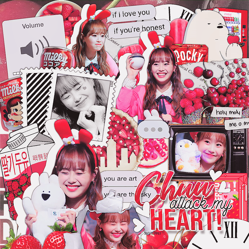 chuu, edit, overlay and editing needs