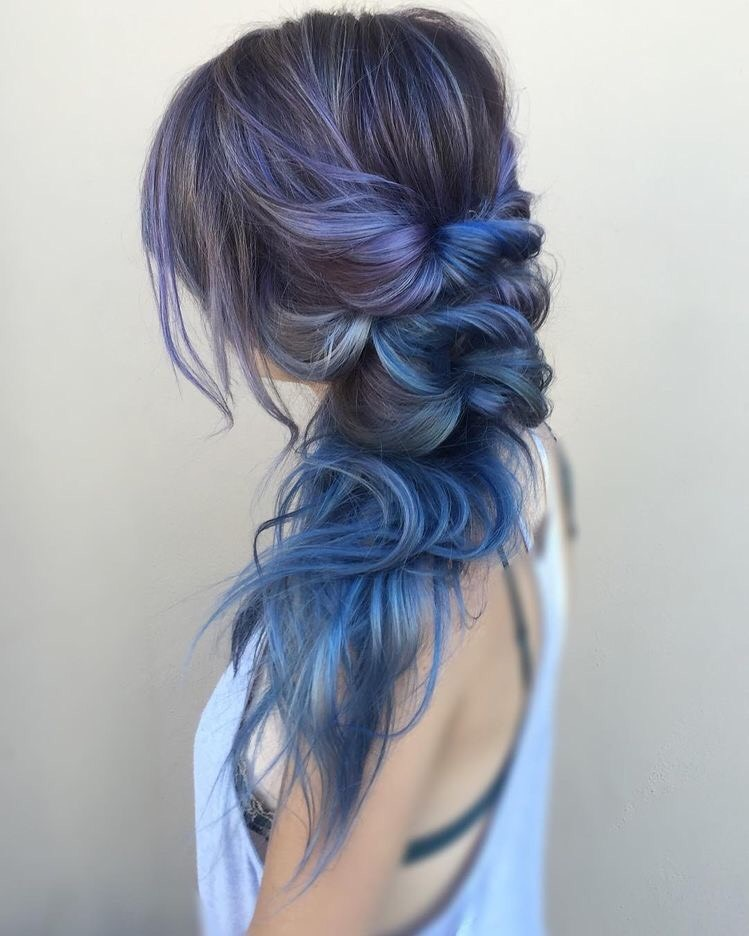 melena, hair, color and trenza