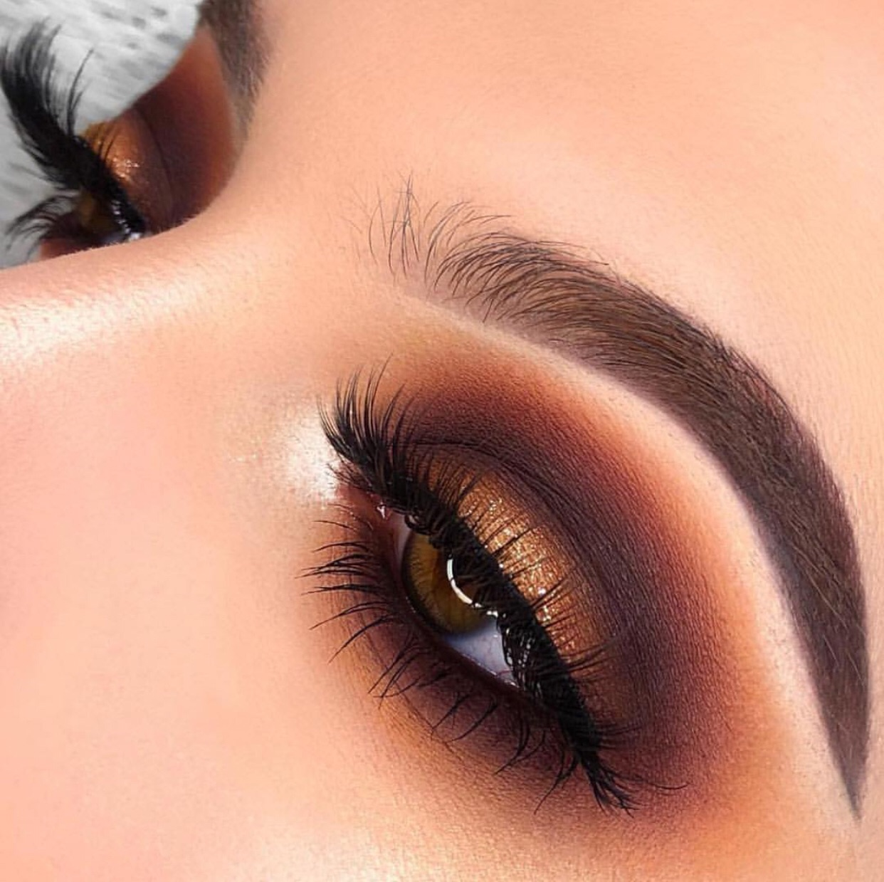 eyeshadow, eyebrows, amazing and morphe