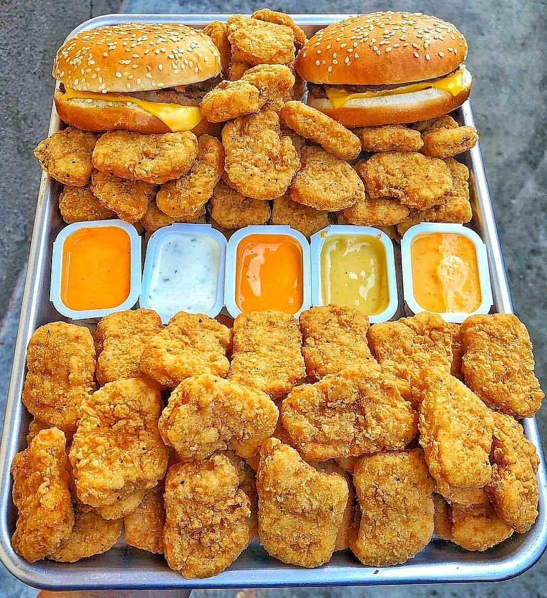 ranch, want and chicken