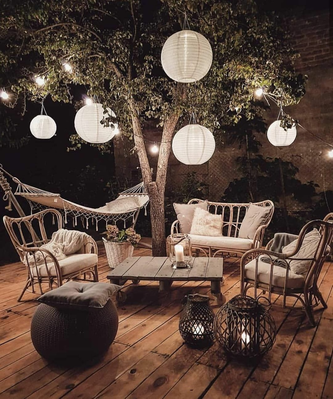 want, lights and relax