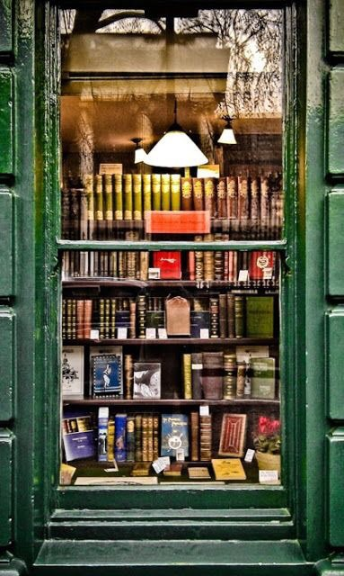 reading, book stores, book lover and store front