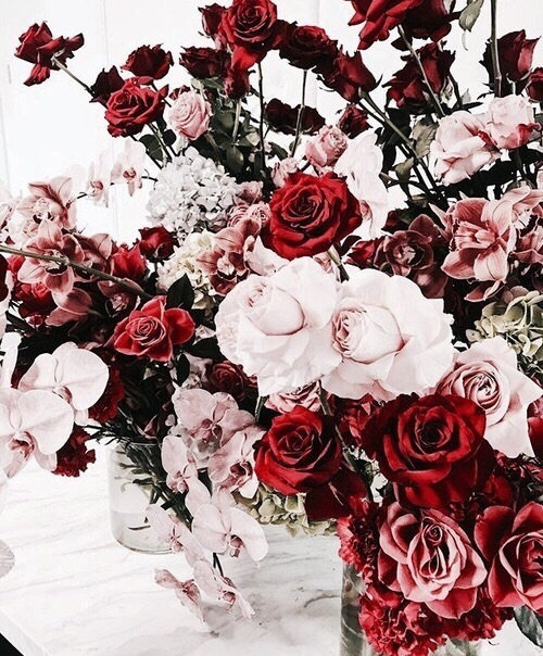 aesthetic, roses, vogue and floral