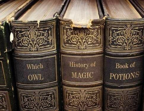 hp, hermione and books