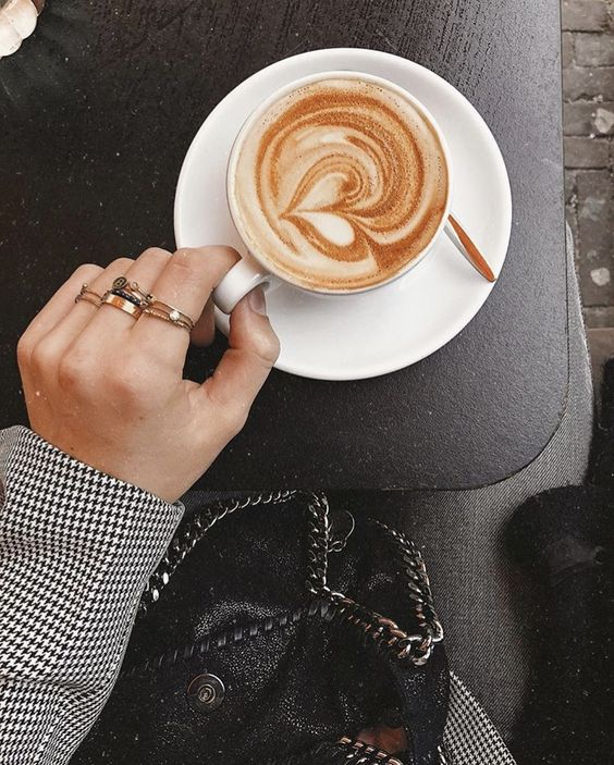 rings, drink, coffee and morning