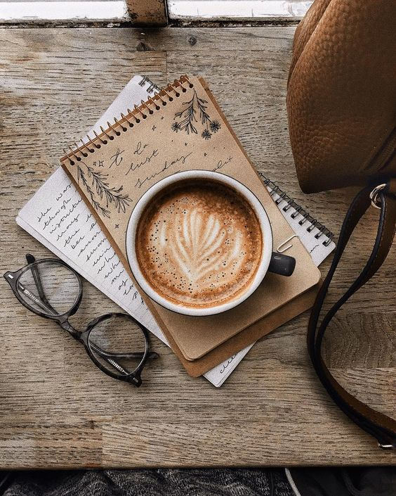 aesthetic, latte, brown and caffeine