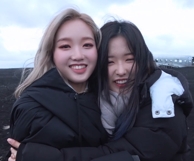 kpop, olivia hye, son hyejoo and gowon