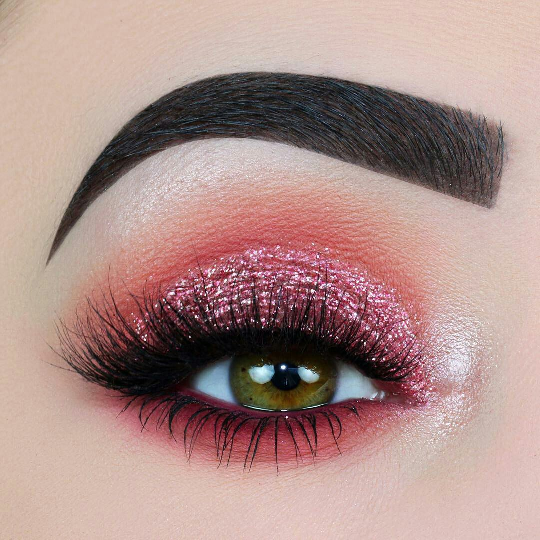 chic, pink eyeshadow, girly and beauty