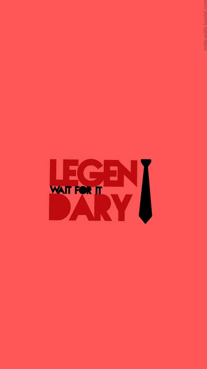 background, quote, red and himym