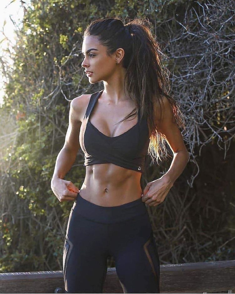 fitness, workout, chicas and woman