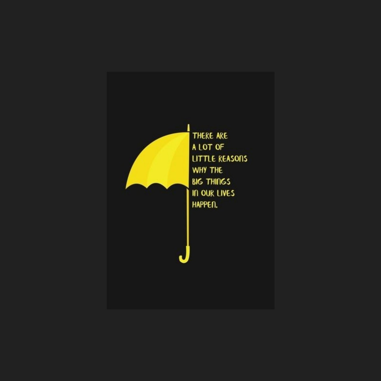 wallpaper, quote, himym and how i met your mother