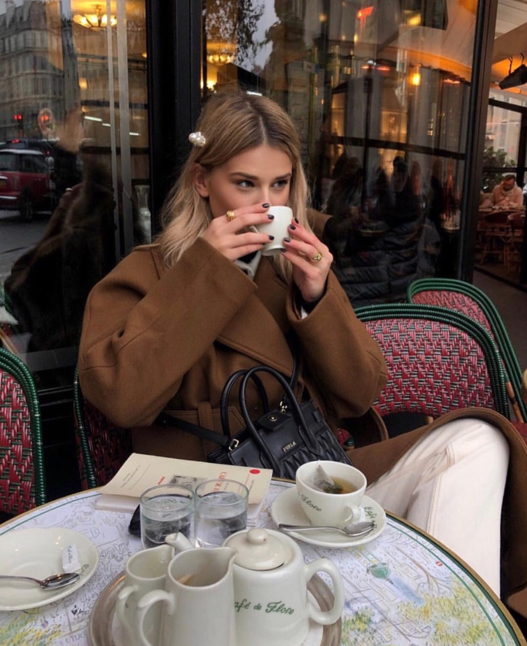 girl, parisian, fashion and places