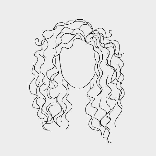Sketch Curly Hair Black Girl And Art Image 6913611 On Favim Com