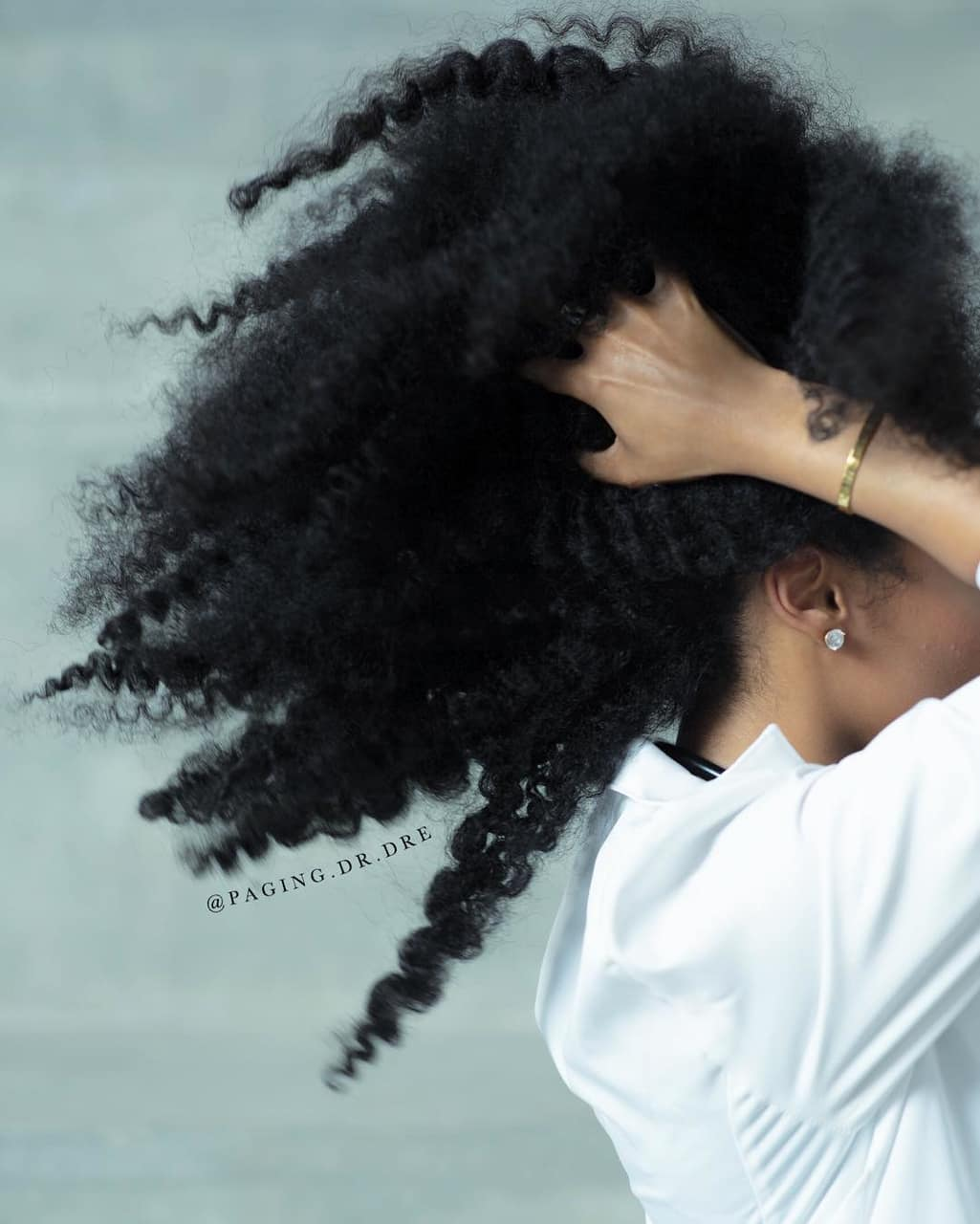 kinky hair, twist out, black women and texture shot