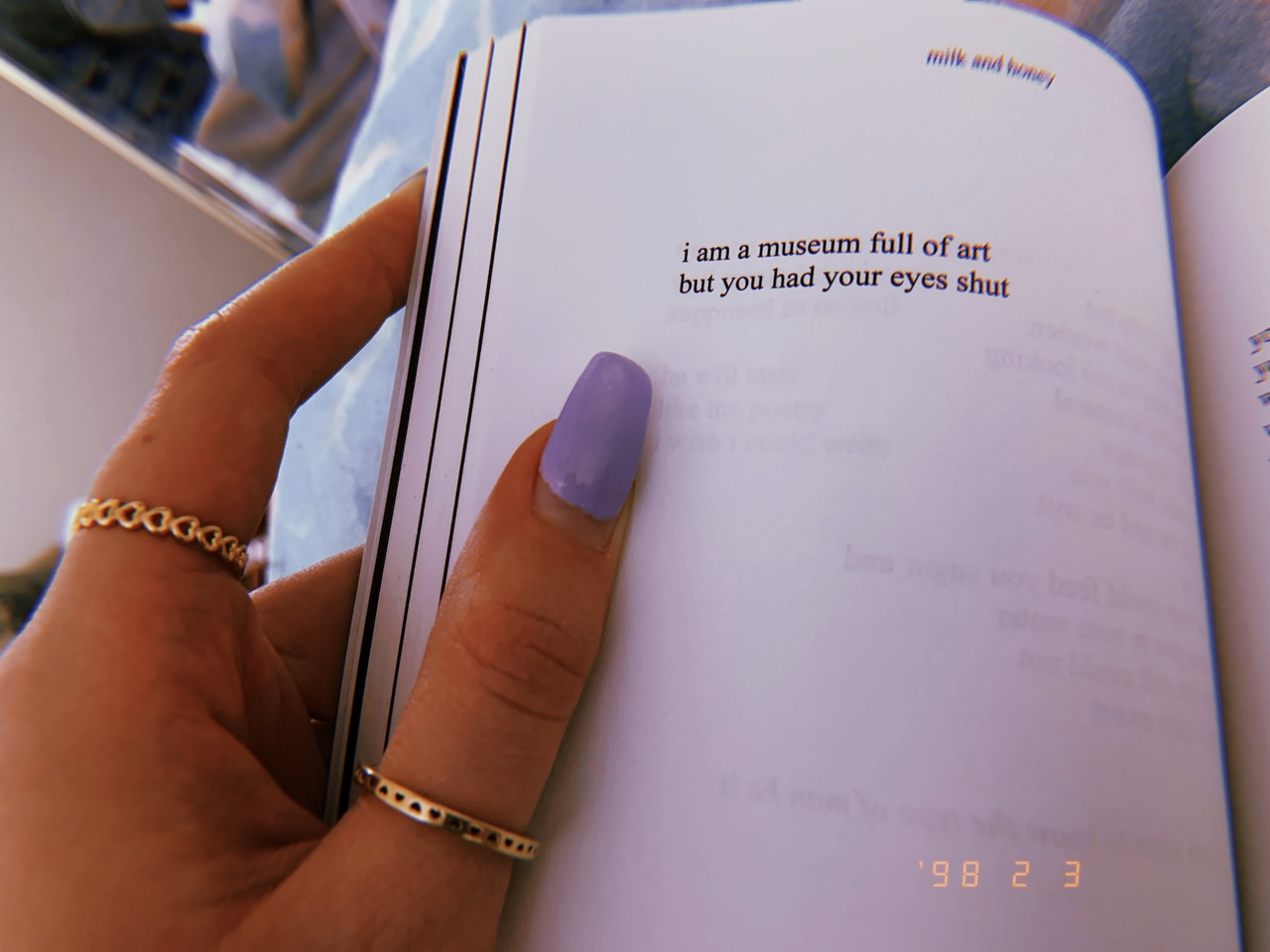 love, aesthetic, nails and love quote