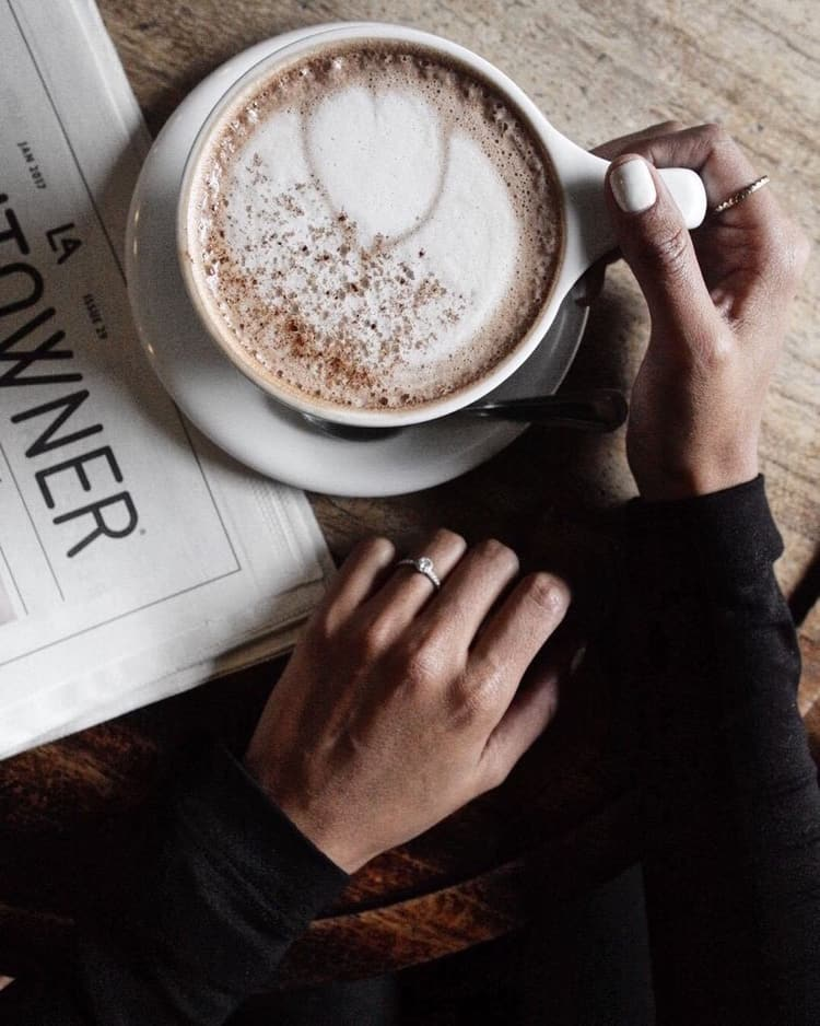 jewelry, brown, coffee and aesthetic