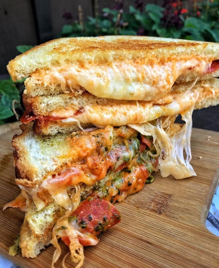 cheese, delicious, yummy and sandwich