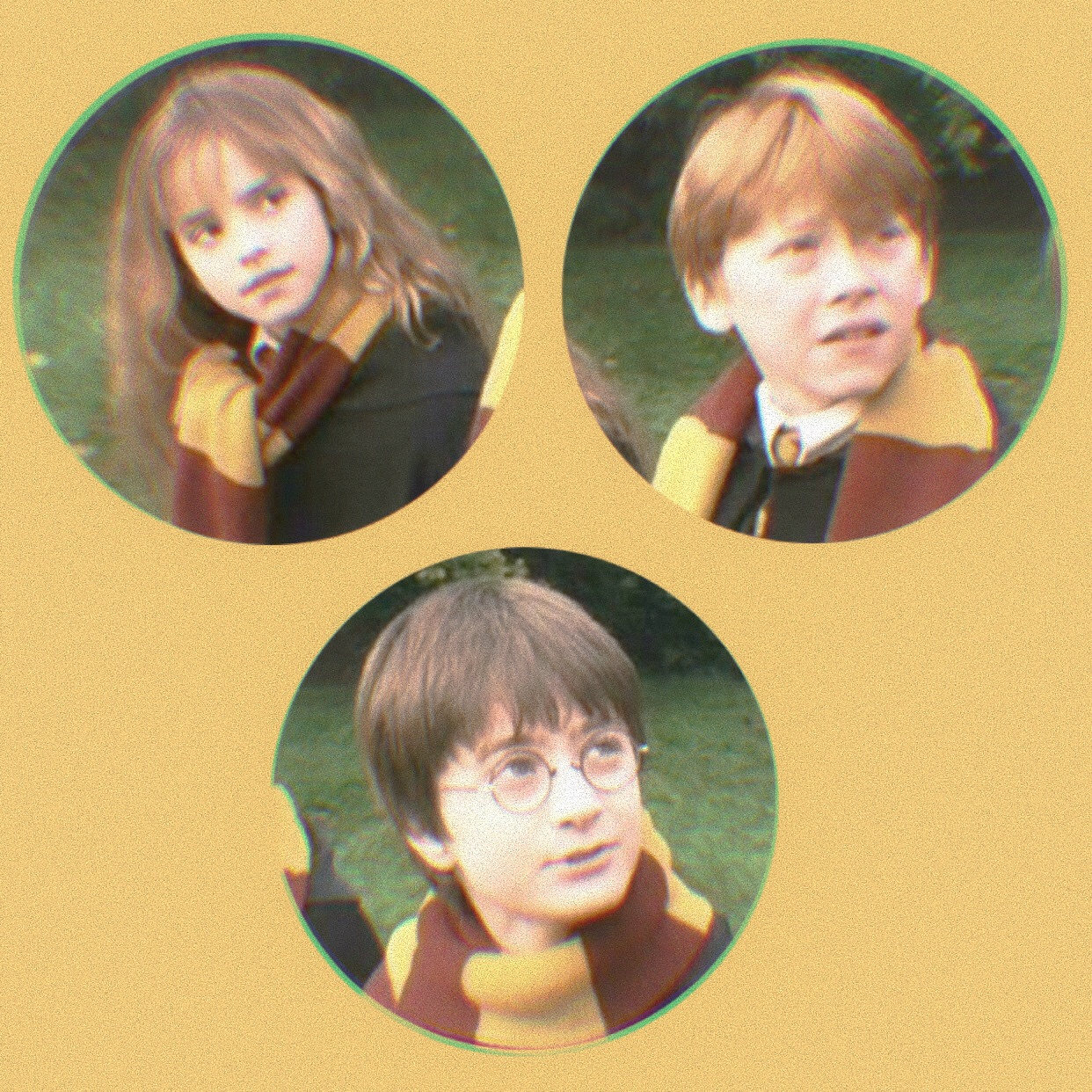 ron weasley, harry potter, rp help and icons