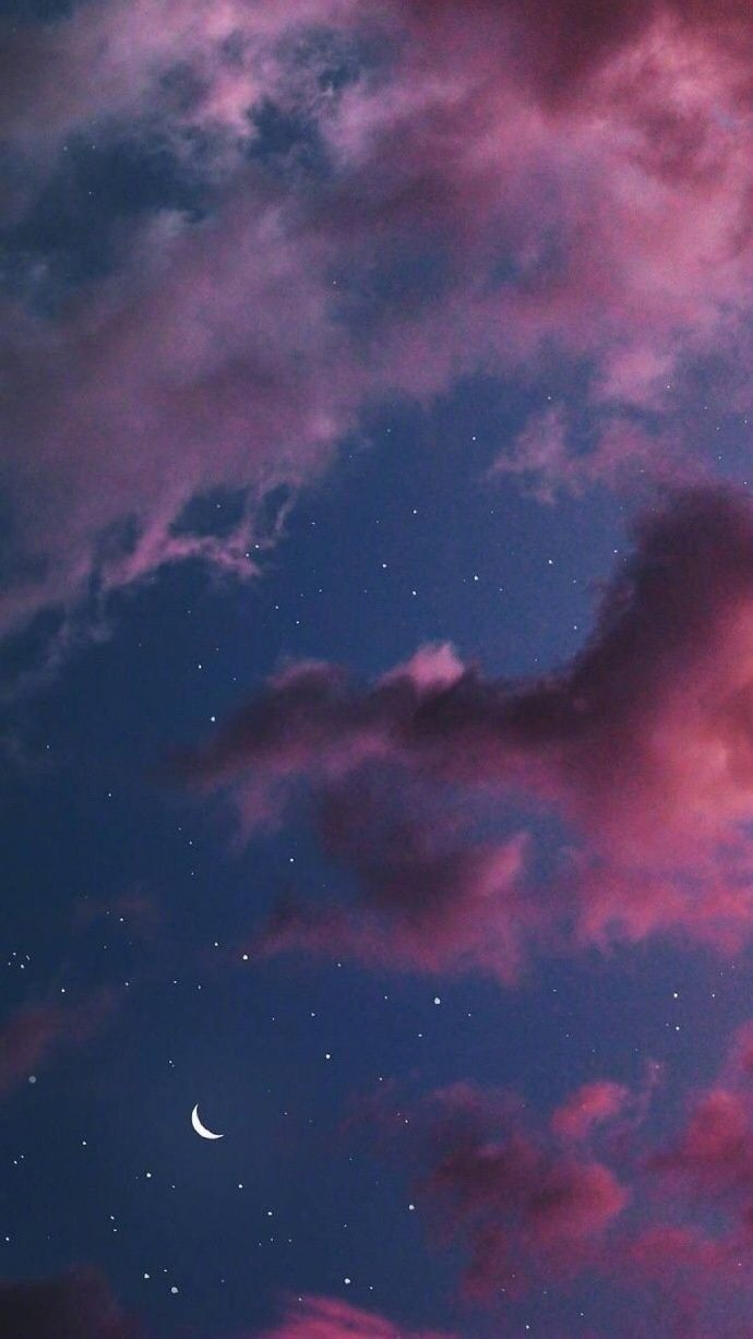stars, clouds and dreamy