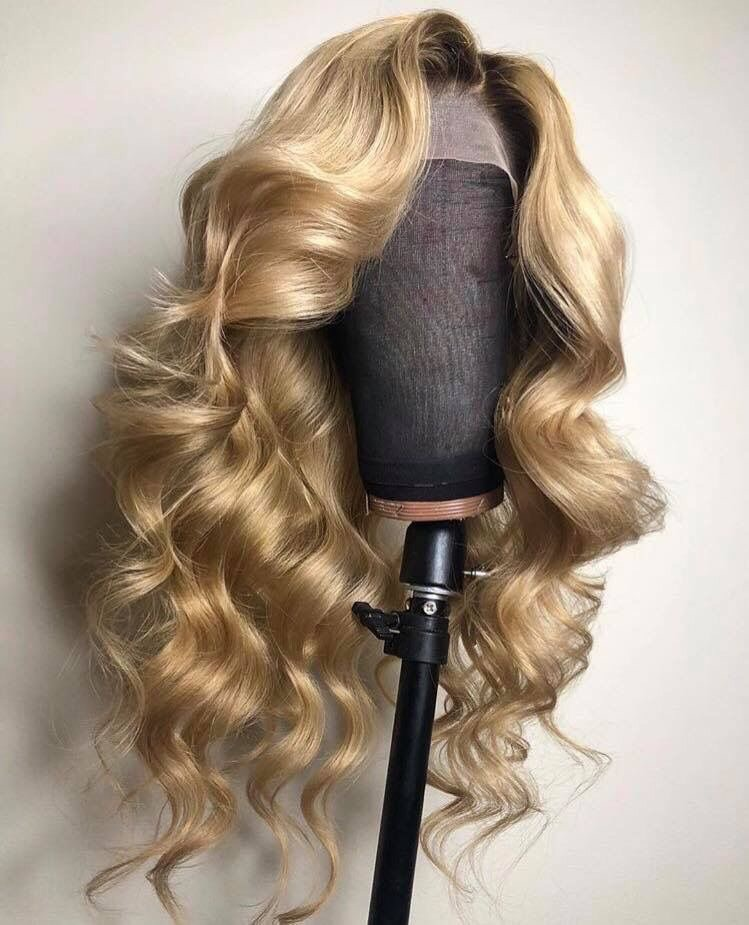 blonde, curls and hair