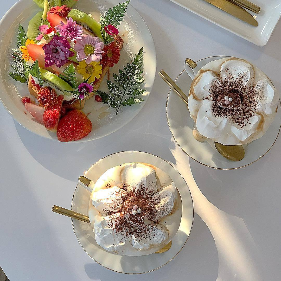fruits, desserts and photo