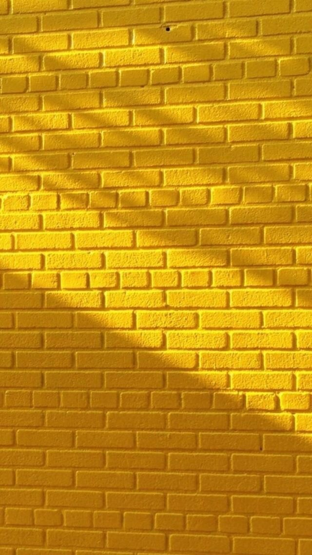 another brick in the wall, bricks, yellow and brick by brick