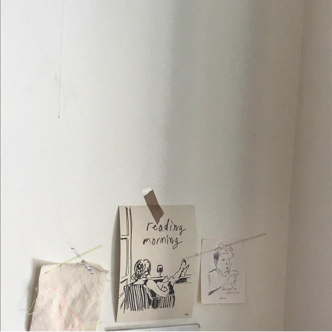 art, soft and wall