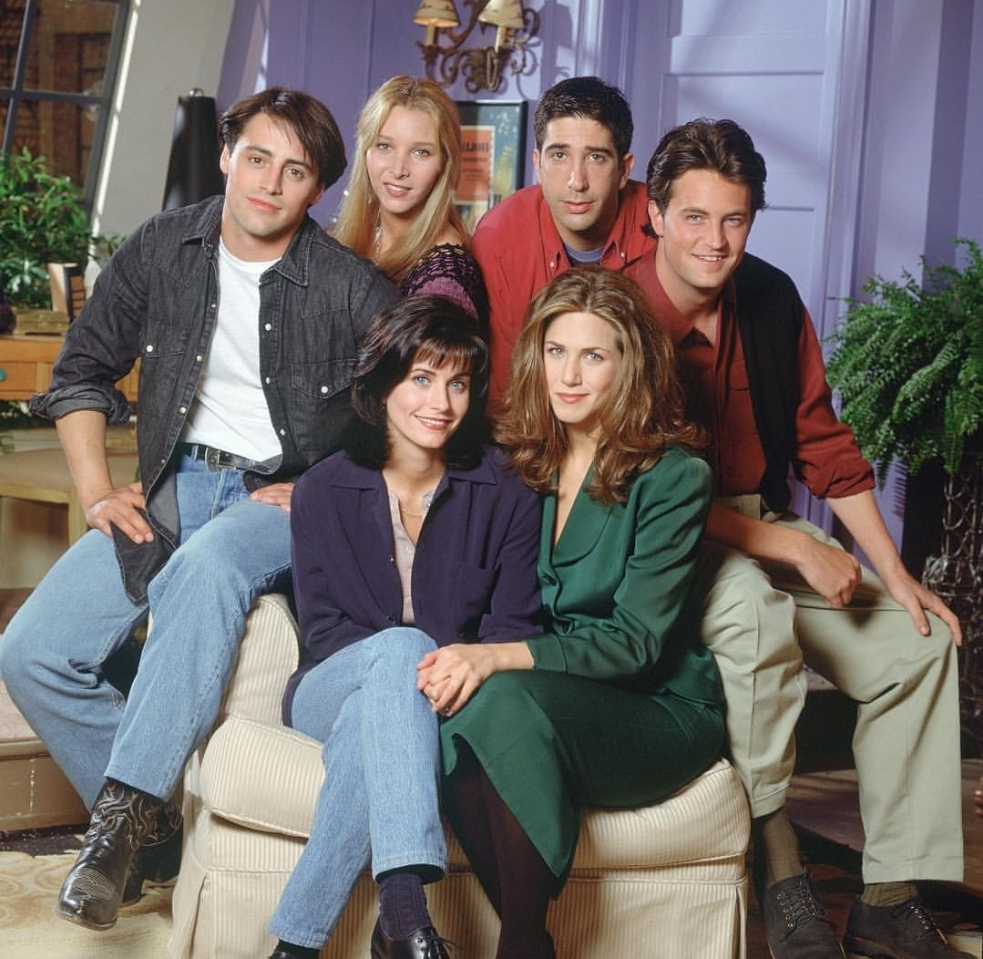 friends, 90s, american sitcom and friends poster